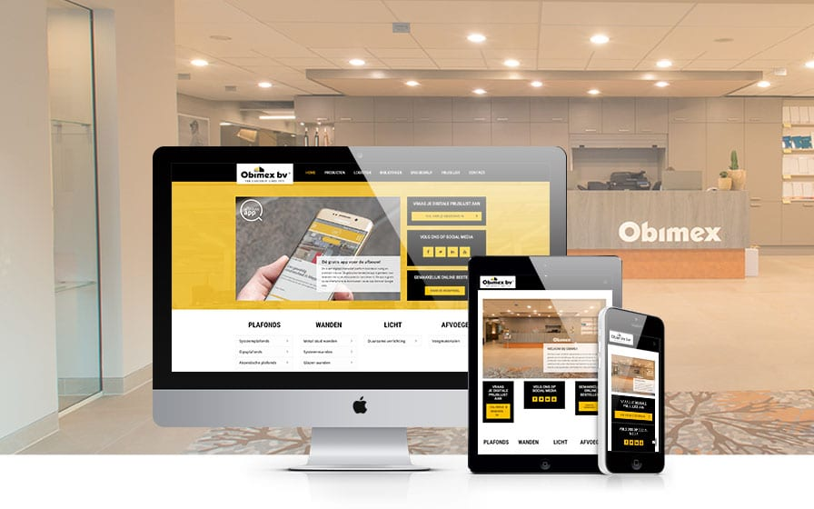 Obimex | Website ontwikkeling | Searchflow
