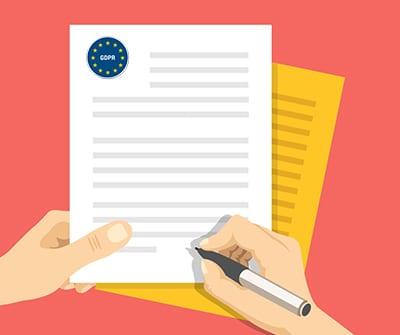 Verwerkersovereenkomst tekenen tbv GDPR / AVG