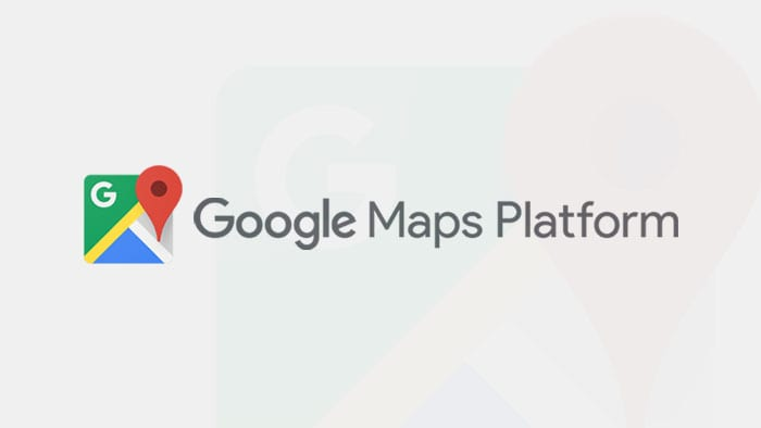 Logo Google Maps Platform